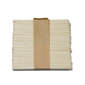Depresores de madeira (Lote 50 uds.)