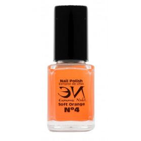 EN Nail Polish Nº 04 - Soft Orange  - 12 ml