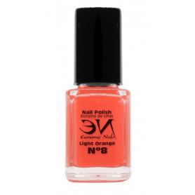 EN Nail Polish Nº 08 - Light Orange - 12 ml