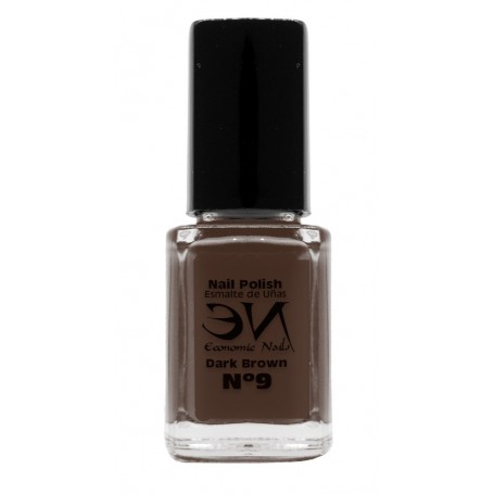 EN Nail Polish Nº 09 - dark Brown - 12 ml