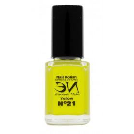 EN Nail Polish Nº 21 - Yellow - 12 ml