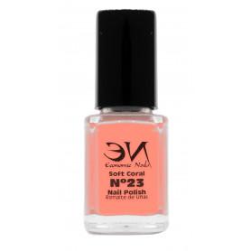 EN Nail Polish Nº 23 - Soft Coral - 12 ml