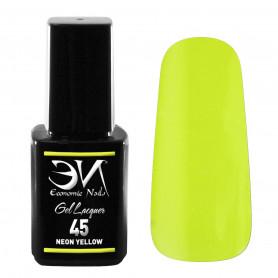 EN Gel Lacquer Nº 45 - Neon Yellow - 12ml